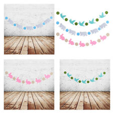 Baby Shower Birthday Party Bunting Banner Garland Nursery Hanging Decoration