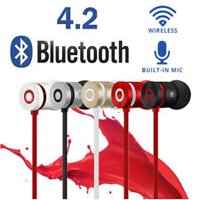 Magnetic Wireless Bluetooth 4.2 Stereo In-Ear Earphone Headset Headphone Mic LOT