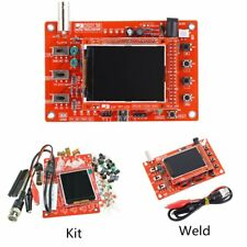 "DSO138 2.4"" TFT Digital Oscilloscope Kit DIY Parts + Acrylic DIY Case Cover ZK"