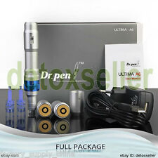 Dr.Pen ULTIMA A6 Electric Derma Pen Stamp Micro Needle Anti-Aging Set 0.25-2.5mm