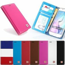 CowSkin Flip Cover Case for Samsung Galaxy Note5 Note Edge Note4 Note3 Note2
