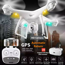 S70W 2.4GHz GPS FPV Drone Quadcopter with 1080P HD Camera Wifi Headless Mode New