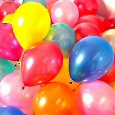 Pearl Shaped Helium Balloons Colorful Thick Latex Decor Balloons 10inch 100pcs