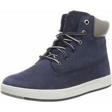 Timberland Davis Square 6 Inch Boot Navy Nubuck Youth Ankle Boots