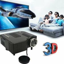 Portable 1080P 2500Lumens HD LED Multimedia Projector Home Cinema Theater Lot NA