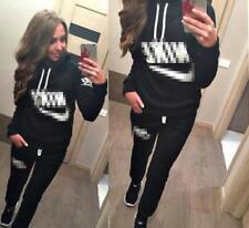 WOMEN GIRL new Tracksuit Hoodies Sweatshirt Pants Sets Sport Wear Casual suit nk