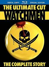 Watchmen: The Ultimate Cut Blu-ray Disc 4-Disc Set Brand New Sealed
