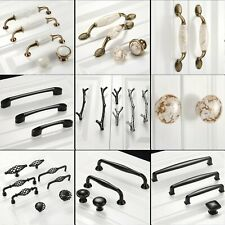 Door Pull Handles Furniture Hardware Cupboard Closet Drawer Cabinet Knob Unique