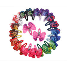 1 Pair Fashion Baby GirlsBowknot Butterfly Hairpin Headdress  Hair Accessories