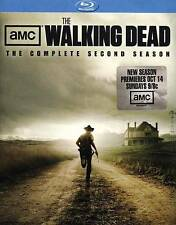 The Walking Dead: The Complete Second Season (Blu-ray Disc, 2012) New No Slipcvr
