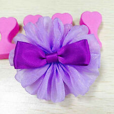 2 Pcs New Girls Bow Hairpin Hair Clips Kids Hair Accessories Party Birthday Gift