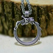 Norse Vikings Pendant Necklace Ringerike Dragon Necklace Norse Jewelry Taliman