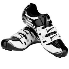 Mens Cycling Shoes SPD SPD-SL MTB Mountain Bike Cycling Shose Black Green Red