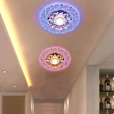 Artificial Crystal LED 3/5W Ceiling Light Fixture Pendant Lamp Lighting Exotic