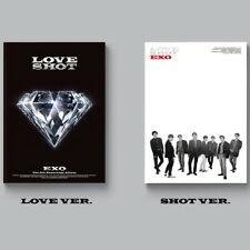 Exo - Love Shot (Repackage) Love Ver. CD+Booklet+Photocard+Poster New