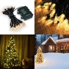 Loende Battery Operated String Lights, Christmas Lights 50 Led Clear Mini Lights