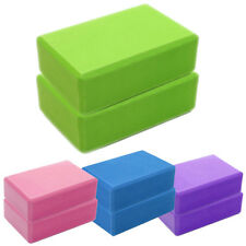 Yoga Block Foam Brick Exercise Fitness Tool Workout Stretching Aid Pilates New