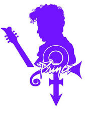 Prince Rogers Nelson -Prince with Symbol Decal + FREE Buy 1 Get 1 BOGO