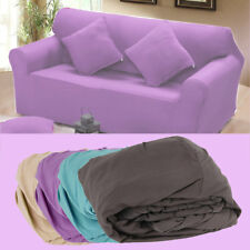 Elasticity Couch Sectional Sofa Furniture Slipcover 1/2/3 Seater 12 Colors NS