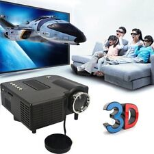 Portable 1080P 2500Lumens HD LED Multimedia Projector Home Cinema Theater Lot A1
