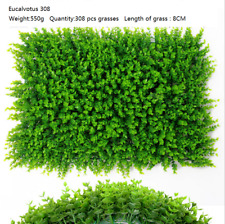 40*60CM Eucalyptus ARTIFICIAL PLANT VERTICAL GARDEN FAKE WALL SCREEN For Home