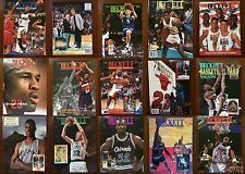 You Choose Beckett Basketball Card Monthly Magazine Price Guides 1990-1996