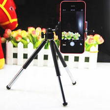 Universal Mini Tripod Stand +Cell phone Mount For iPhone 8 Plus XS XR GALAXY S9