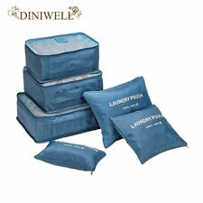 DINIWELL 6 PCS Travel Storage Bag Set For Clothes Tidy Organiser Pouch Cell