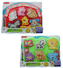 Fisher Price Toddler Laugh & Learn Zoo Farm Animal Match Making Puzzle 12-36M
