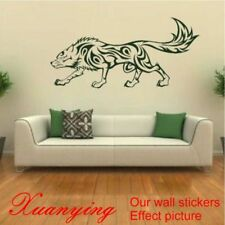 Wolf Animal Wall Sticker Vinyl Decal Removable Art Stickers Wild Dog Home Decors