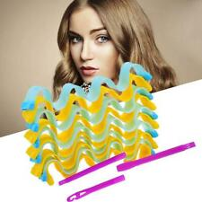 12 Pcs Magic Hair Curlers Curl Formers Spiral Ringlets Leverage Roller Tool