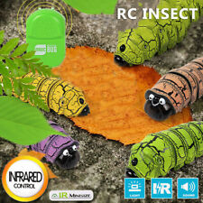 Fun Realistic Remote Control Insect Caterpillar Infrared RC Toys For Jokes Prank
