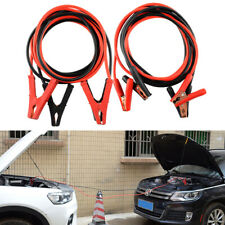 Car Auto Truck Booster Jumper battery charging Cable 6 Gauge 400 amp jump power