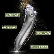 USB Charging Vacuum Electric Face Pore Cleaner Blackhead Remover Suction Tool F5