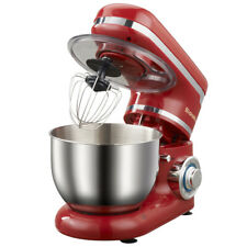 Bread Mixer 1200W 4L Stainless Steel Bowl 6-speed Kitchen Food Stand Mixer