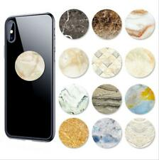 Universal Marble Image Phone Holder Expanding soft Stand Hand Grip Mount