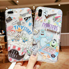 Silicone Cartoon Disney TPU Phone Case Cover For iPhone X XS Max XR 6 7 8 Plus