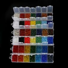 Mixed Colors Czech Glass Seed Beads Spacer Crystal Beads Charms Loose Lampwork G
