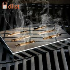 Stainless Steel Cold Smoke Generator BBQ Grill Square Smokers Wood Chips Grill