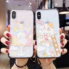 For iPhone X XS Max XR 6 7 8 Plus Ice Cream Shockproof Silicone Phone Case Cover