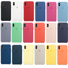 Original Genuine Silicone Case Cover For Apple iPhone X XR XS Max 7 8 6 6S Plus