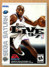 NBA Live 97 - Sega Saturn - Replacement Case *NO GAME*