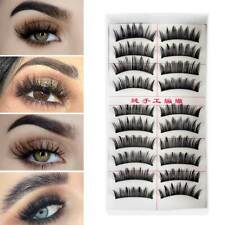Thick False Eyelashes Eye Lashes Extension Wispy Fluffy  3D Faux Mink Hair