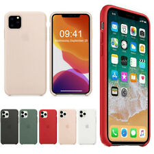 Genuine Original Silicone Case Cover For Apple iPhone X XR XS Max 6 6S 7 8 Plus