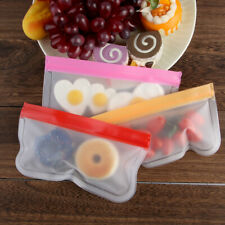 Containers BPA Free Food Storage Bag PEVA Fresh Bag Silicone Ziplock Pouch