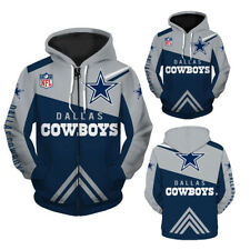 Dallas Cowboys Hoodie Hooded Jacket Sweater Pullover Jersey Football For NFL New