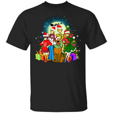 Scooby-doo Family Christmas T-Shirt Funny Xmas Gift For Friends Unisex Tee S-3XL