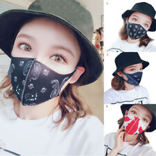 Fashion NEW COVER Mouth Cotton Dust Cartoon Face Dustproof Reusable Mouth Muffle