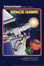 102956 Space Hawk Intellivision Box Art Video Gaming Decor LAMINATED POSTER UK