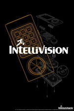 101261 Intellivision Controller White Logo Gaming Decor LAMINATED POSTER DE
